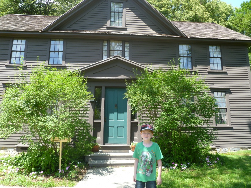 In 2011, I paid a visit to Orchard House, which is a National Historic Site.